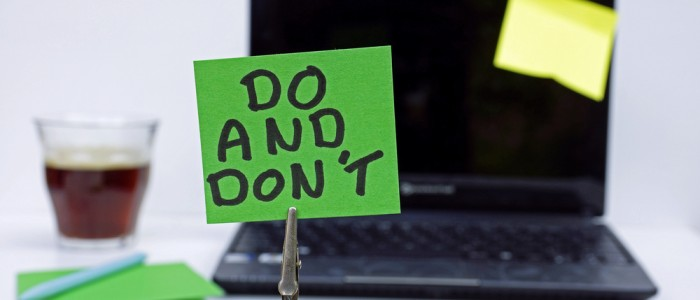 10 Classic Dos and Don'ts to Consider When Preparing Your Resume